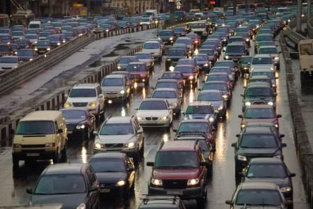 Ежегодно количество автомобилей увеличивается