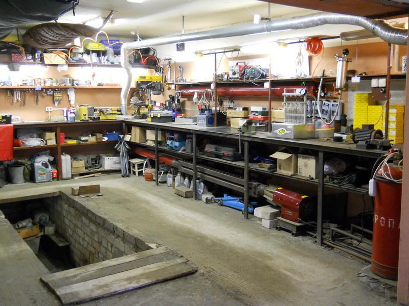 Автомастерская в гараже