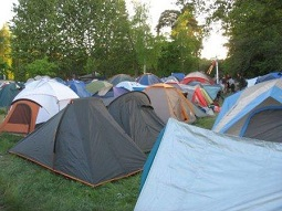 палаточный лагерь при агротуризме