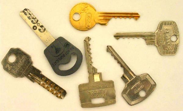 Ключи относятся к вещам которые часто