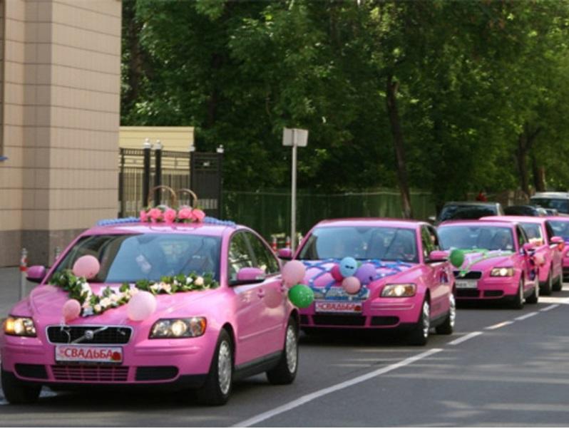 Машины для свадьбы