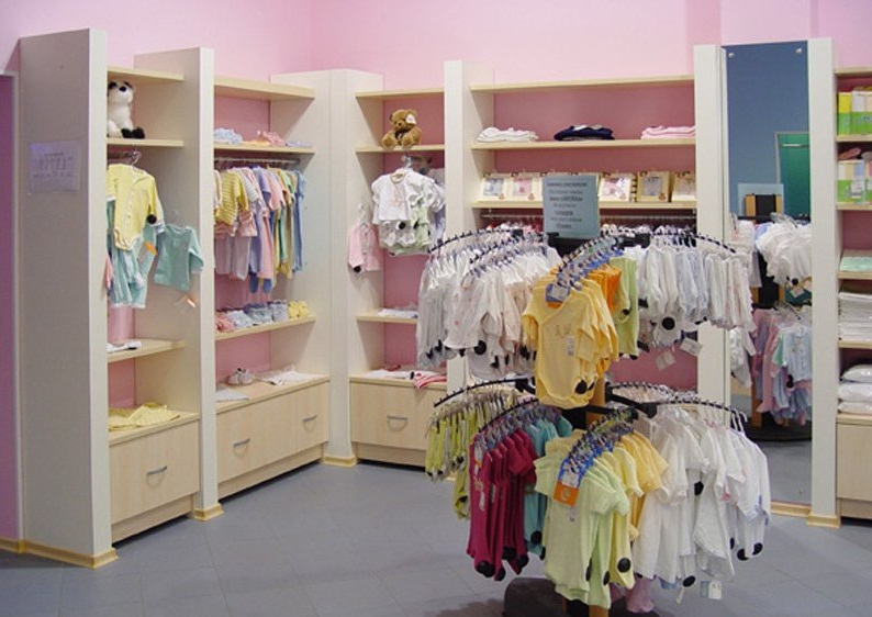 Магазины детской одежды фото интерьера
