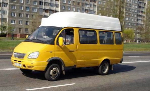 Частное маршрутное такси
