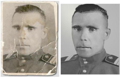 Обработка старинных фото