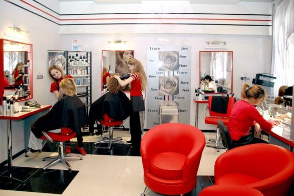 Дизайн проект парикмахерской