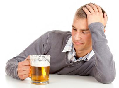 Потребление пива.
