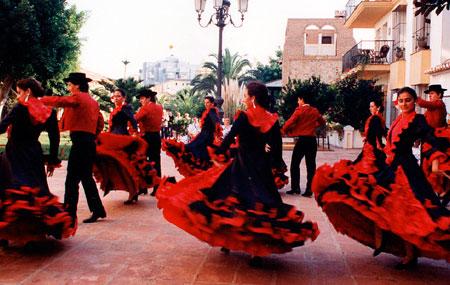 Национальные торжества в Испании