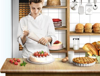 Производство торта