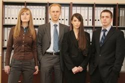 Сотрудники юридической фирмы