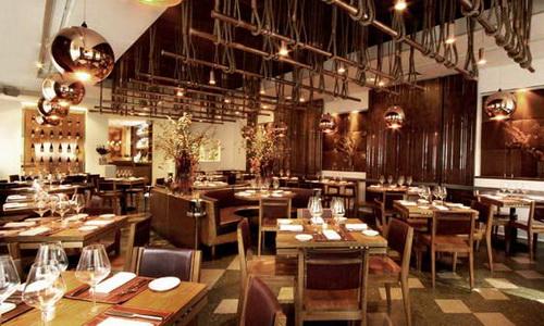 Современный интерьер ресторана