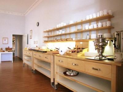 Общая кухня - столовая