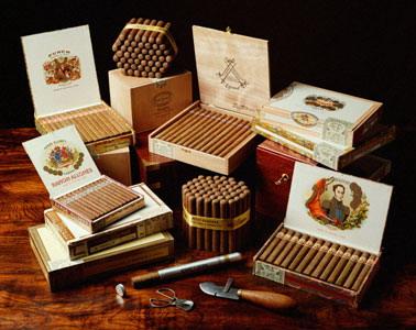 Ассортимент табачных изделий