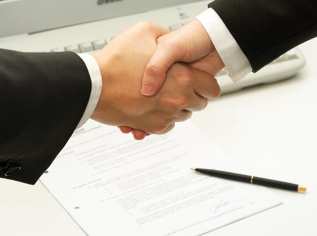 Заключение договора между производителем товара и сервисным центром