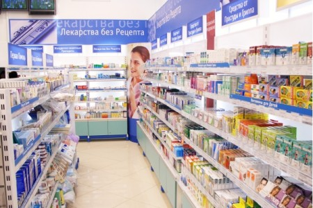 Широкий ассортимент аптеки