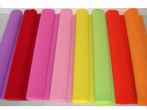 Креповая бумага для оформления букетов