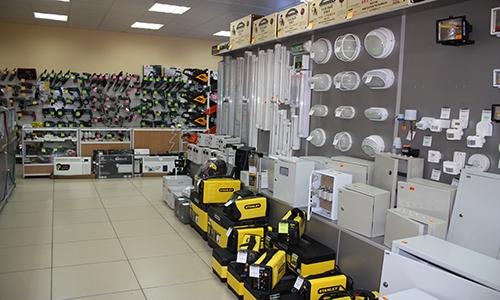 Дизайн магазина электротоваров