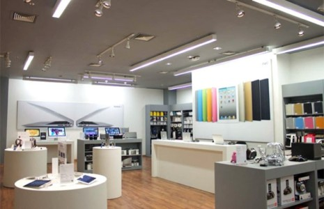 Место для магазина Apple