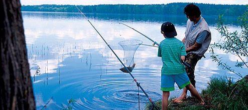 плату за рыбалку взимать