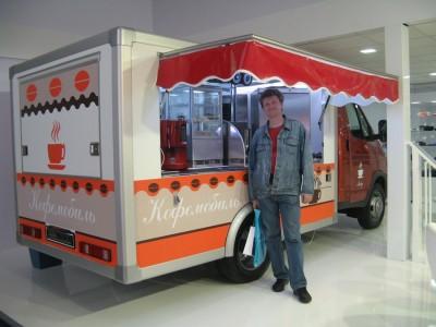 Идея бизнеса: кофейня на колесах