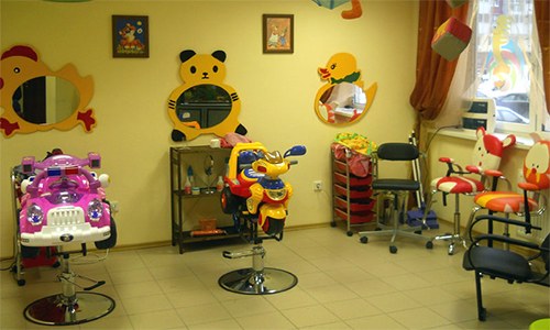 Как сделать детскую парикмахерскую фото
