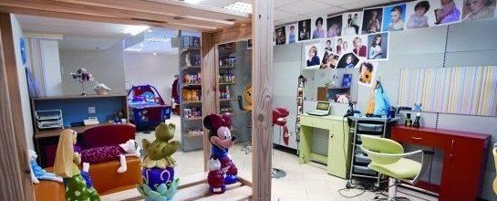 Детская парикмахерская Воображуля - детские стрижки